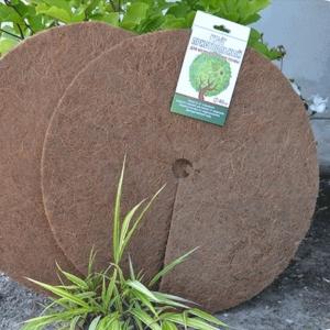Круг приствольный D 50 см, коричневый (кокосовое волокно)