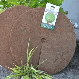 Круг приствольный D 80 см, коричневый (кокосовое волокно)