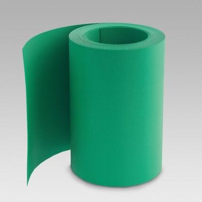Лента газонная (бордюрная); 0,16 см/900 см/10 см, зеленая