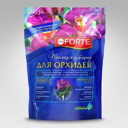 Bona Forte Субстрат для орхидей, пакет 1л