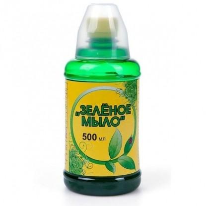 Зеленое мыло 500 мл. с мерным стаканчиком