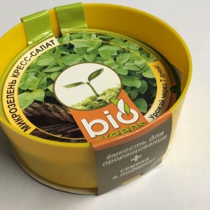 Свежая зелень (семена кресс-салата и лоток для проращивания)
