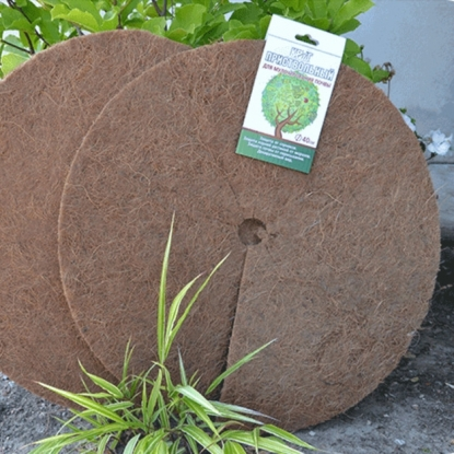Круг приствольный D 25 см, коричневый (кокосовое волокно)