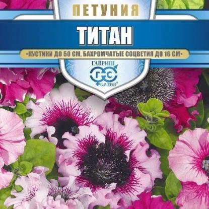 Петуния Титан бахромчатая смесь (сер. Русский богатырь)